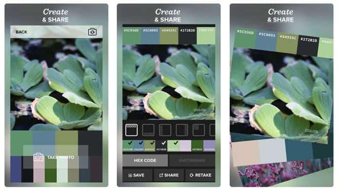 app per creare palette di colori
