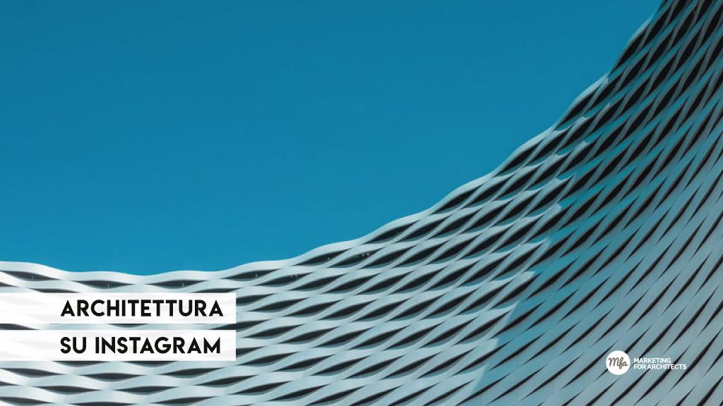 media dell'architettura instagram