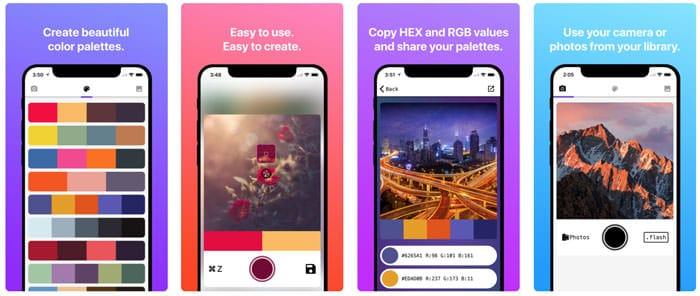 app palette di colori
