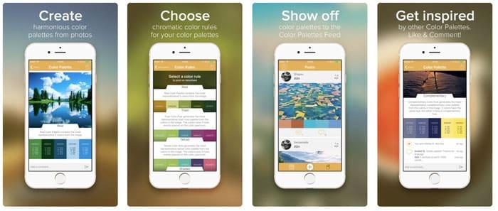 app palette