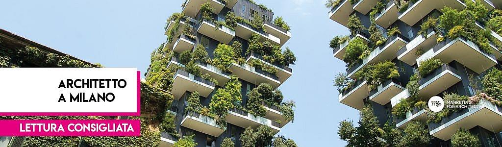 Lavoro architetto Milano