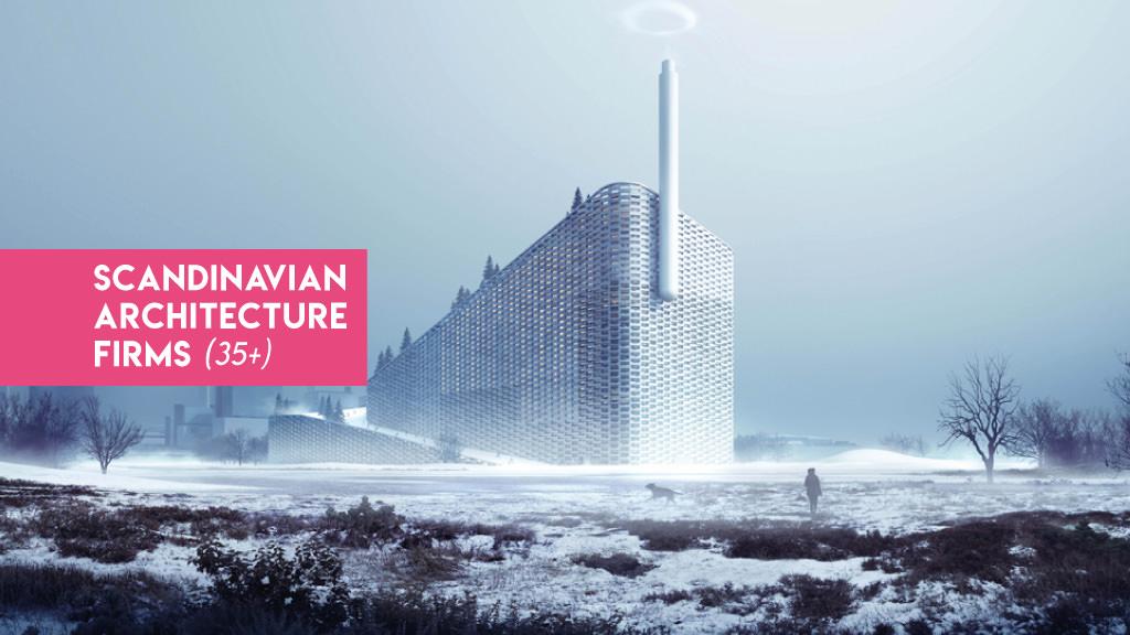 studi architettura scandinavia