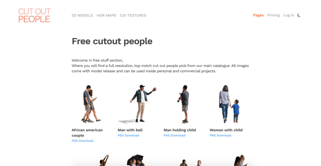 Free Cut Out People