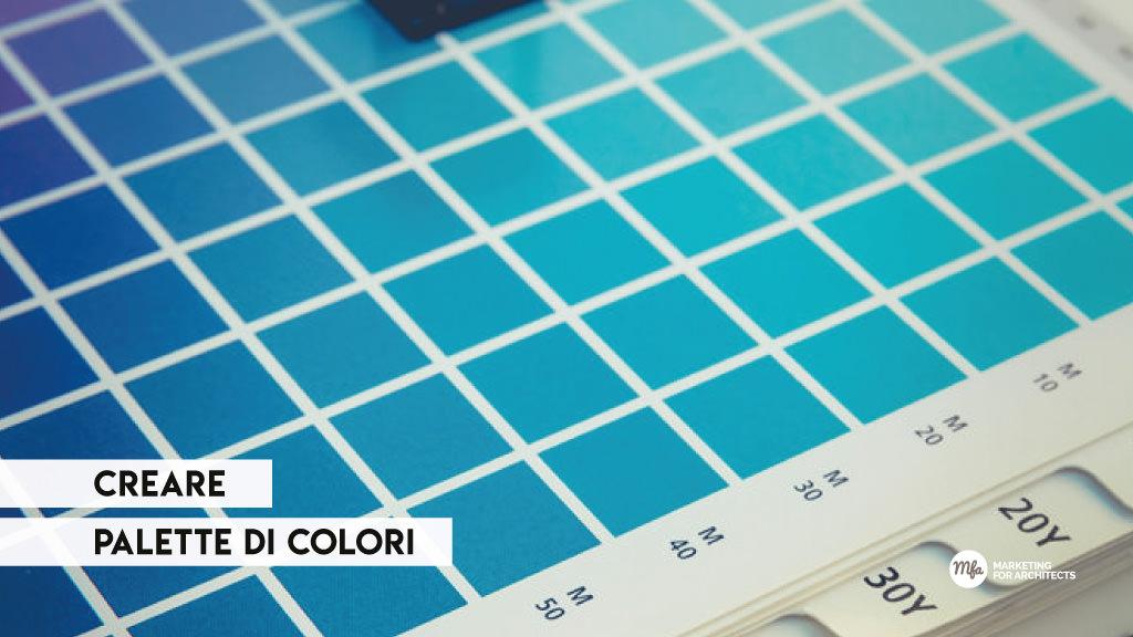 palette di colori