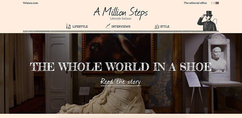 A million steps Velasca
