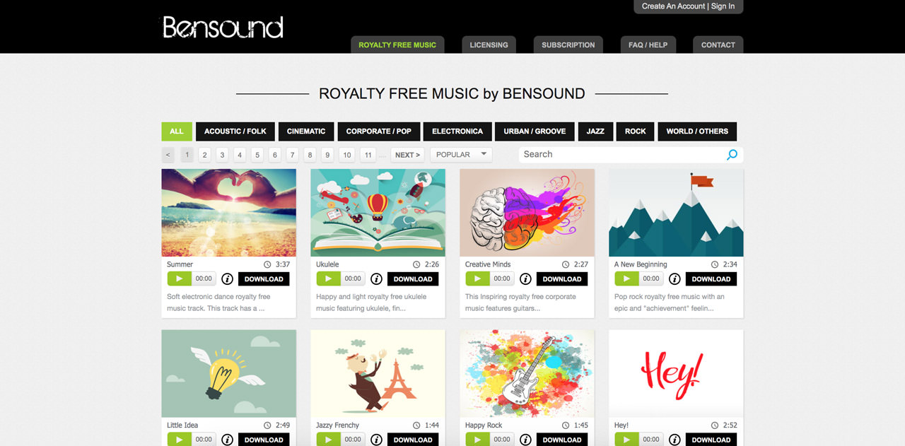 Musica royalty free