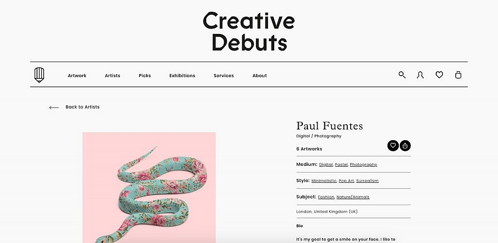 Creative Debuts