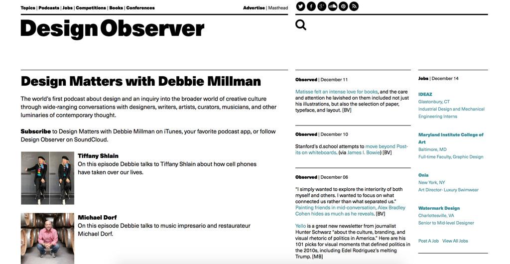 Design Observer Design Matters
