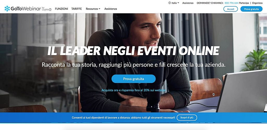 creare webinar online