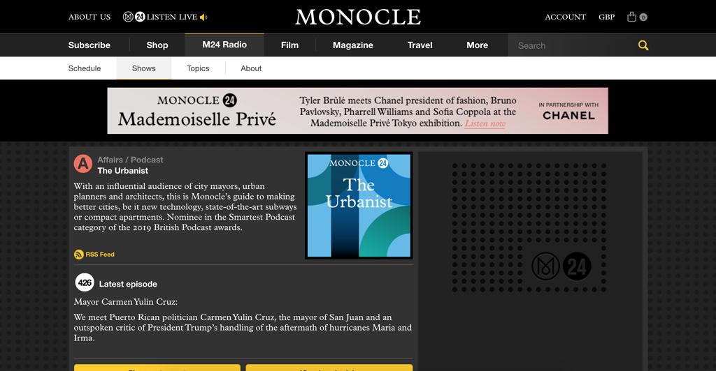 Monocle The Urbanist