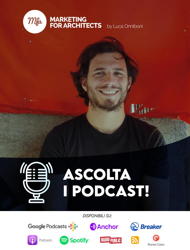 Podcast comunicazione architettura e design