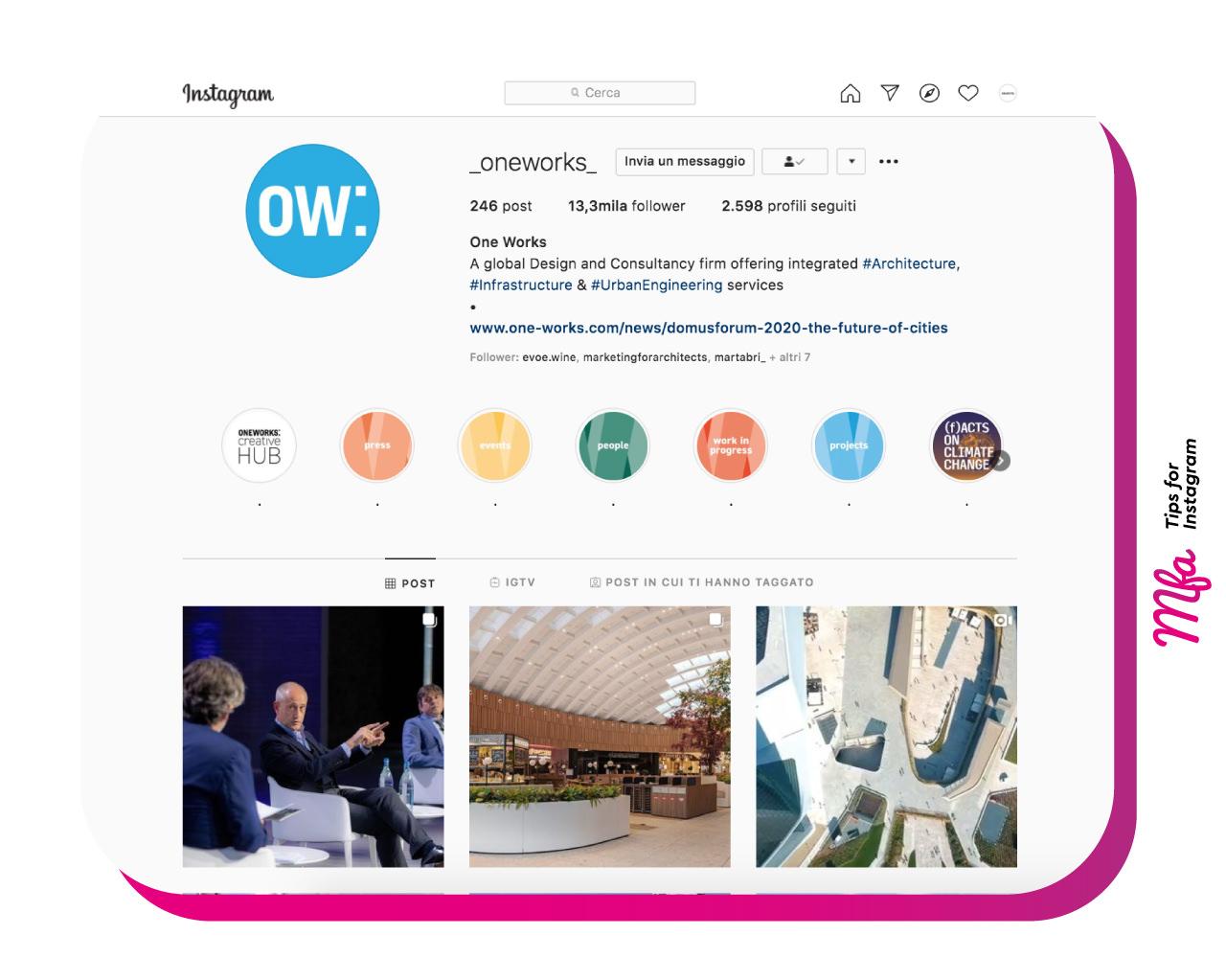 architettura da seguire su Instagram