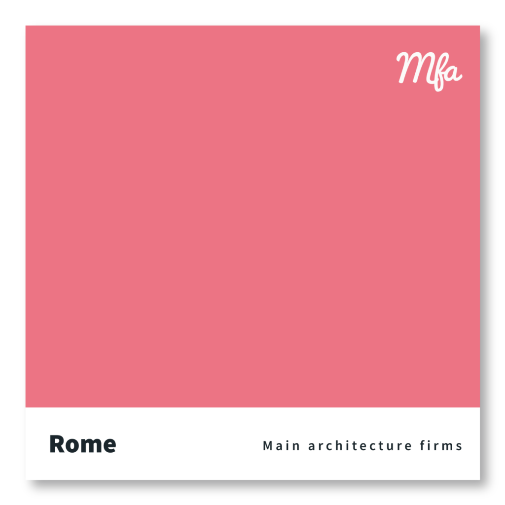 Studi architettura Roma